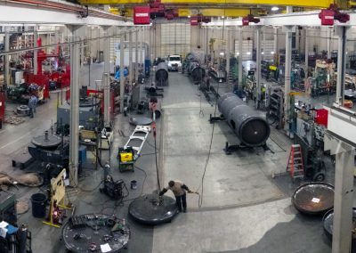 View of Large Fabrication Bays