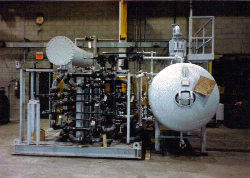 Generator Seal Oil Skid