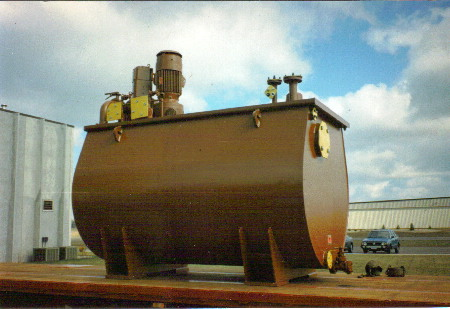 Steam Turbine Lube Tank